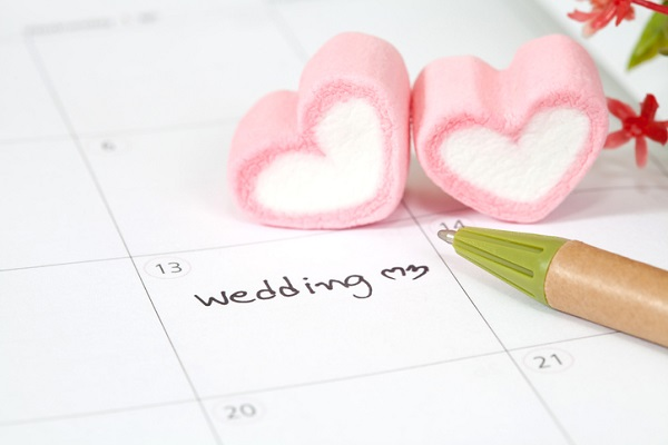 Plan for wedding